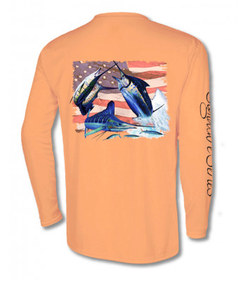 Signature Series - Grand Slam America Flag (Tangelo)