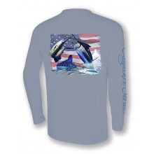 Signature Series - Grand Slam America Flag (Light Gray)