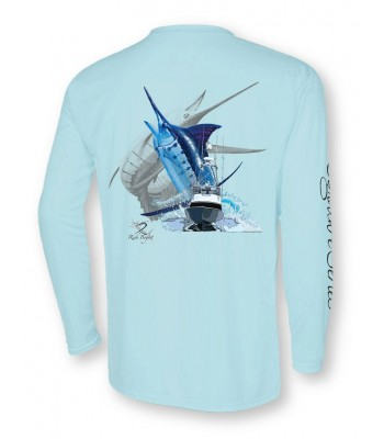 Signature Series - Blue Marlin and Boat (Sea Frost)