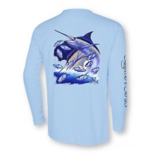 Signature Series - Blue Marlin and Sailfish (Bliss Blue)