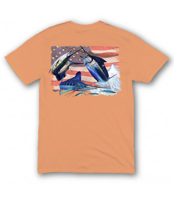 Signature Series - Grand Slam America Flag (Tangelo) - Short Sleeve