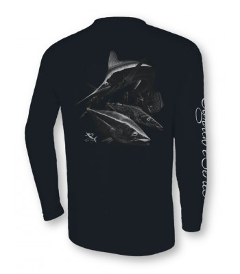 Signature Series - White Marlin, Tuna, Mahi, Wahoo (Black)