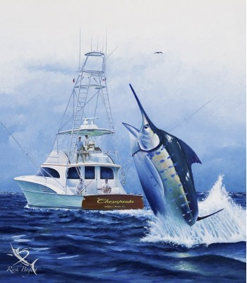 Chesapeake - Rick Bogert Commission Painting