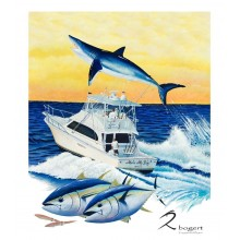 Mako My Day - Rick Bogert Commission Painting