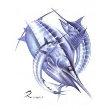 Marlin Magic Painting