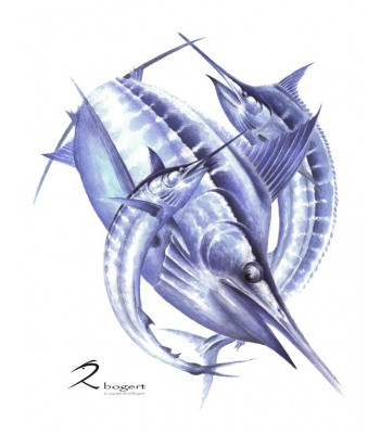 Marlin Magic Painting