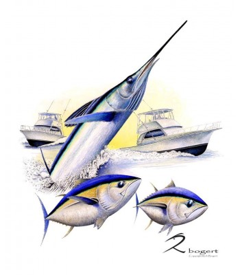 White Out White Marlin