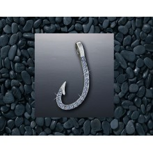 Diamond Hook Pendant