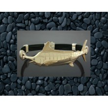 14K Gold Marlin Bracelet