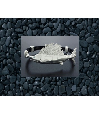 Sterling Silver Sailfish Bracelet