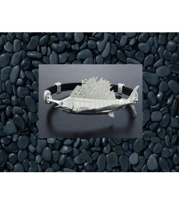 Sterling Silver Sailfish Bracelet